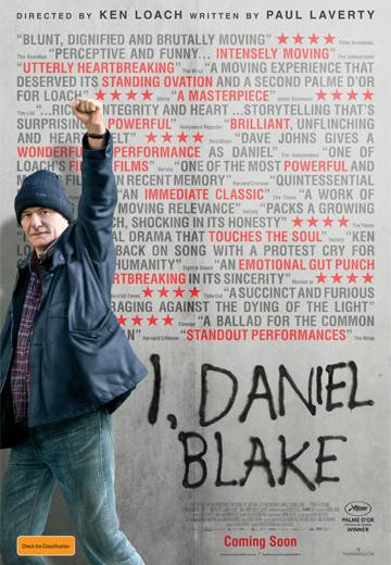 Key art for I, Daniel Blake
