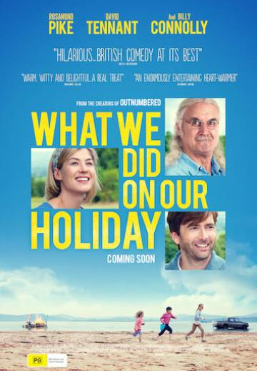 Key art for What We Did On Our Holiday