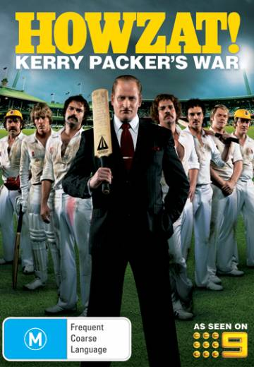 Key art for Howzat! Kerry Packer's War