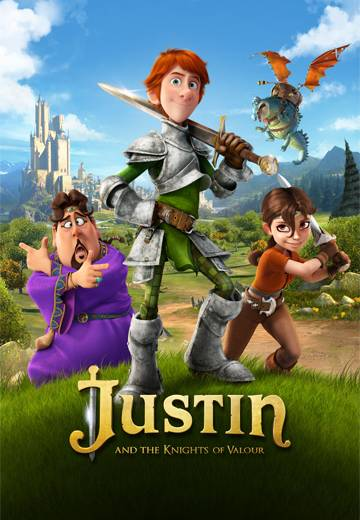 Key art for Justin & The Knights of Valour