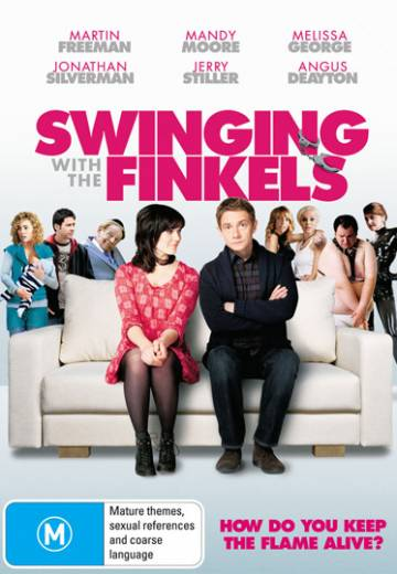 Key art for Swinging with the Finkels
