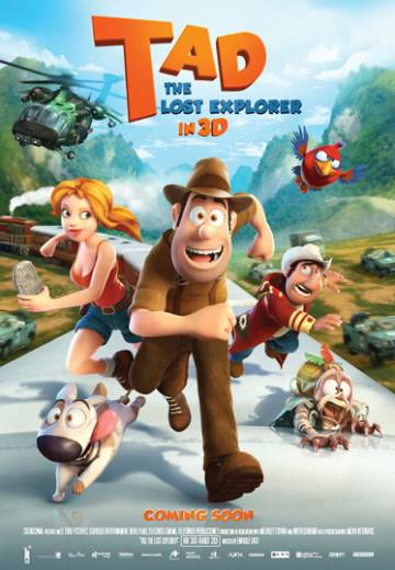 Key art for Tad, The Lost Explorer