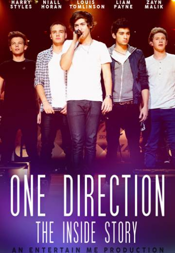 Key art for One Direction: The Inside Story
