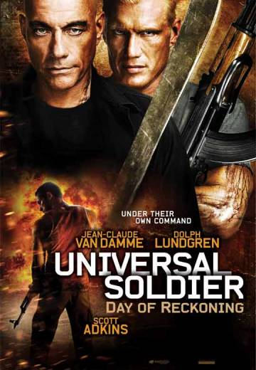 Key art for Universal Soldier: Day of Reckoning