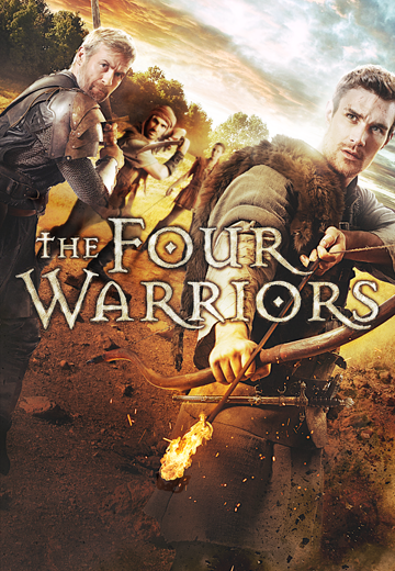 Key art for The Four Warriors