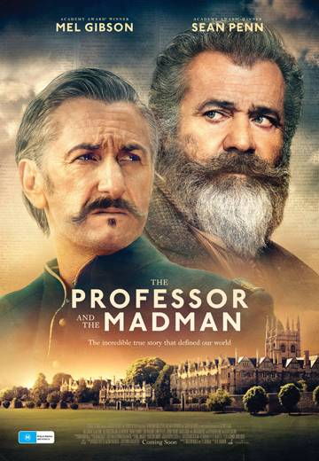 Key art for The Professor And The Madman