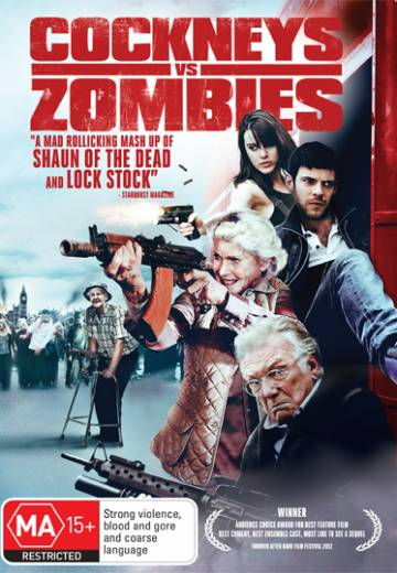 Key art for Cockneys vs Zombies