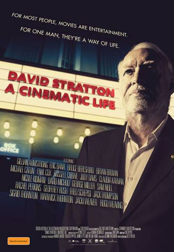 Key art for David Stratton: A Cinematic Life