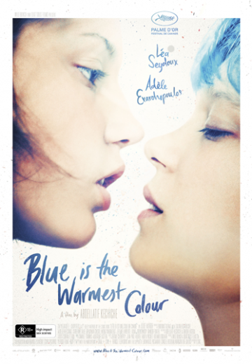 Key art for Blue is the Warmest Colour