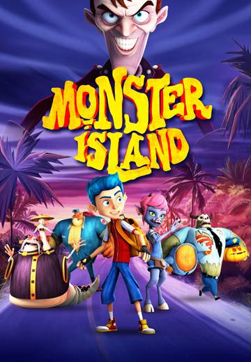 Key art for Monster Island