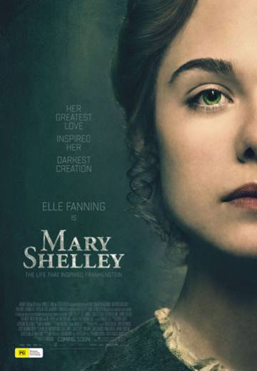 Key art for Mary Shelley