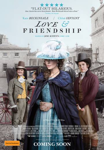Key art for Love and Friendship