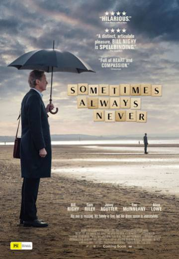 Key art for Sometimes Always Never