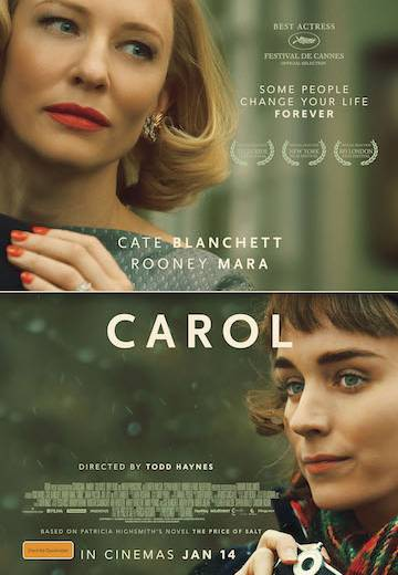 Key art for Carol