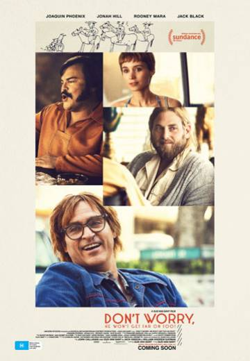 Key art for Don't Worry, He Won't Get Far On Foot