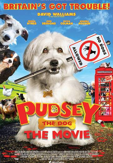 Key art for Pudsey The Dog: The Movie
