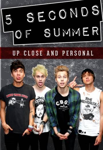 Key art for 5 Seconds of Summer: Up Close and Personal