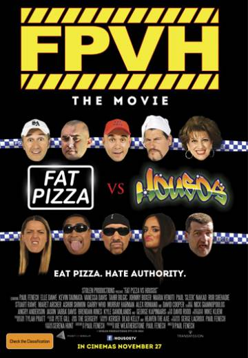 Key art for Fat Pizza vs Housos