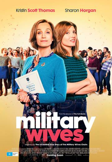 Key art for Military Wives