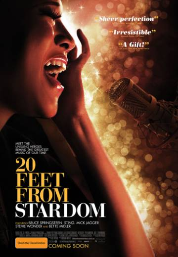 Key art for 20 Feet From Stardom