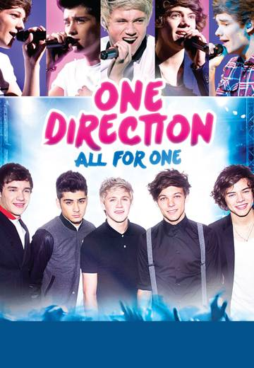 Key art for One Direction: All for One