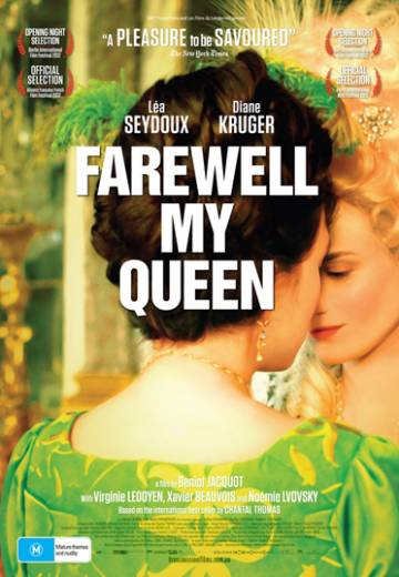 Key art for Farewell, My Queen